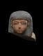 Polychrome Head from a Shabti