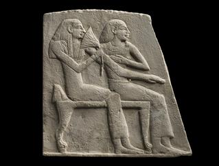 mobile version - Relief depicting a Seated Couple