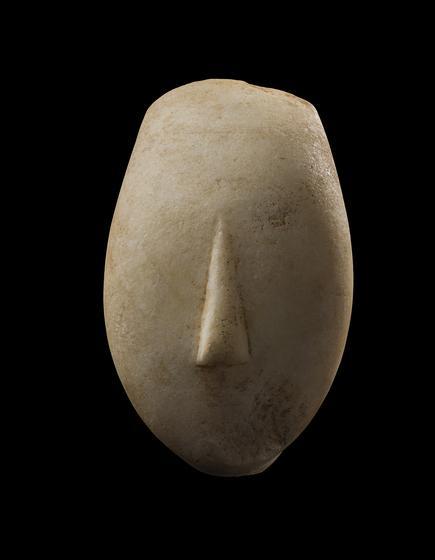 Head of a Cycladic Idol
