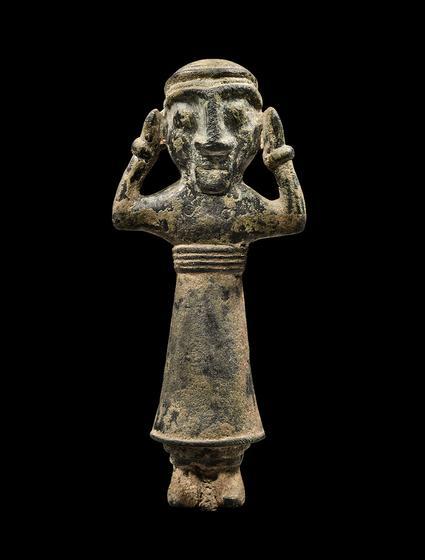 Figure of a Deity or Worshipper