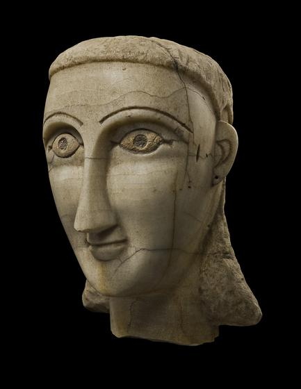 Over-lifesized Female Head