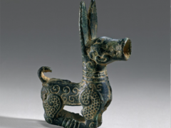 Ornament in the form of a Stylized Doe