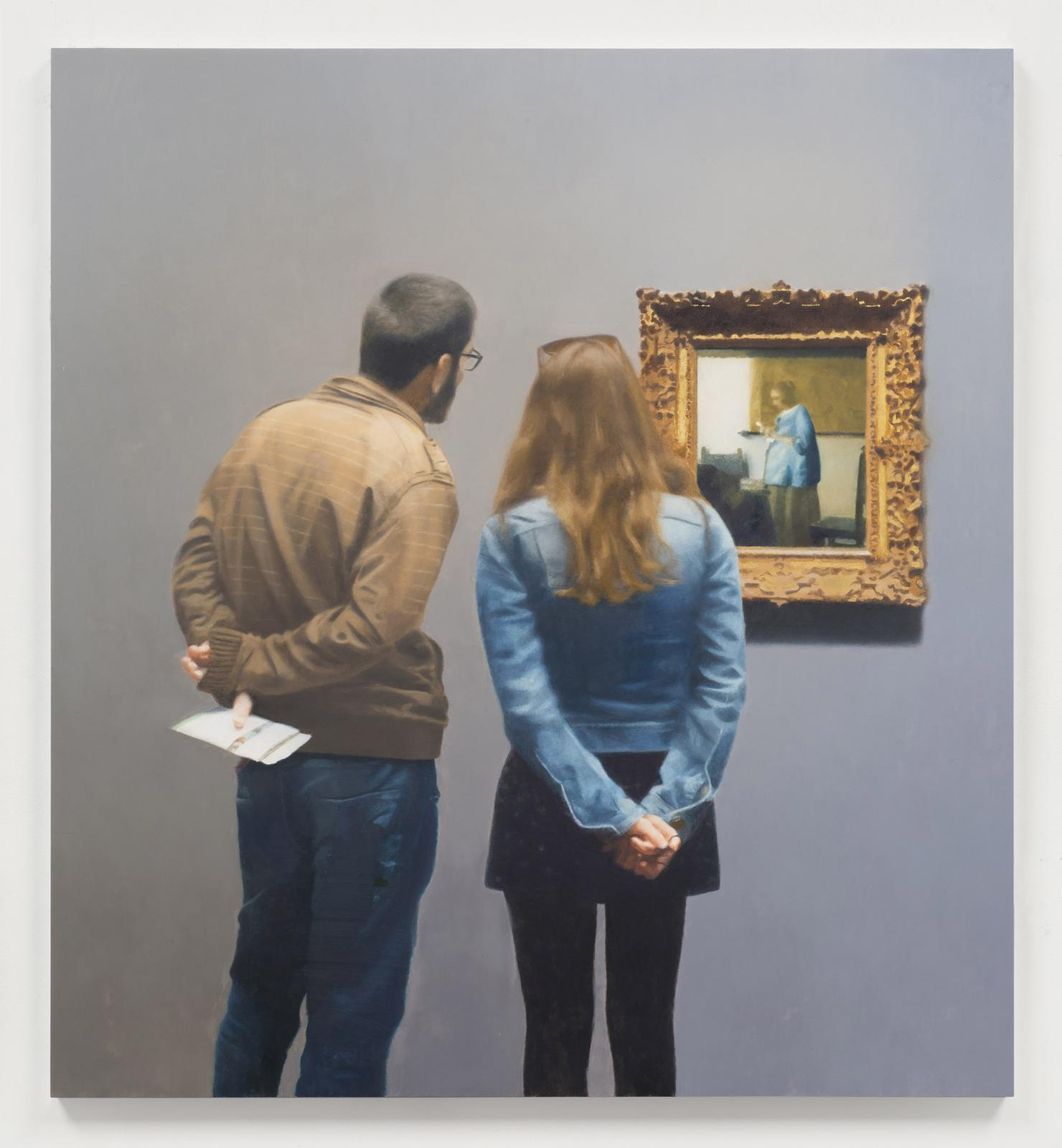59 Paintings In which the Artist Considers the Process of Thinking about and Making Work Paul Winstanley