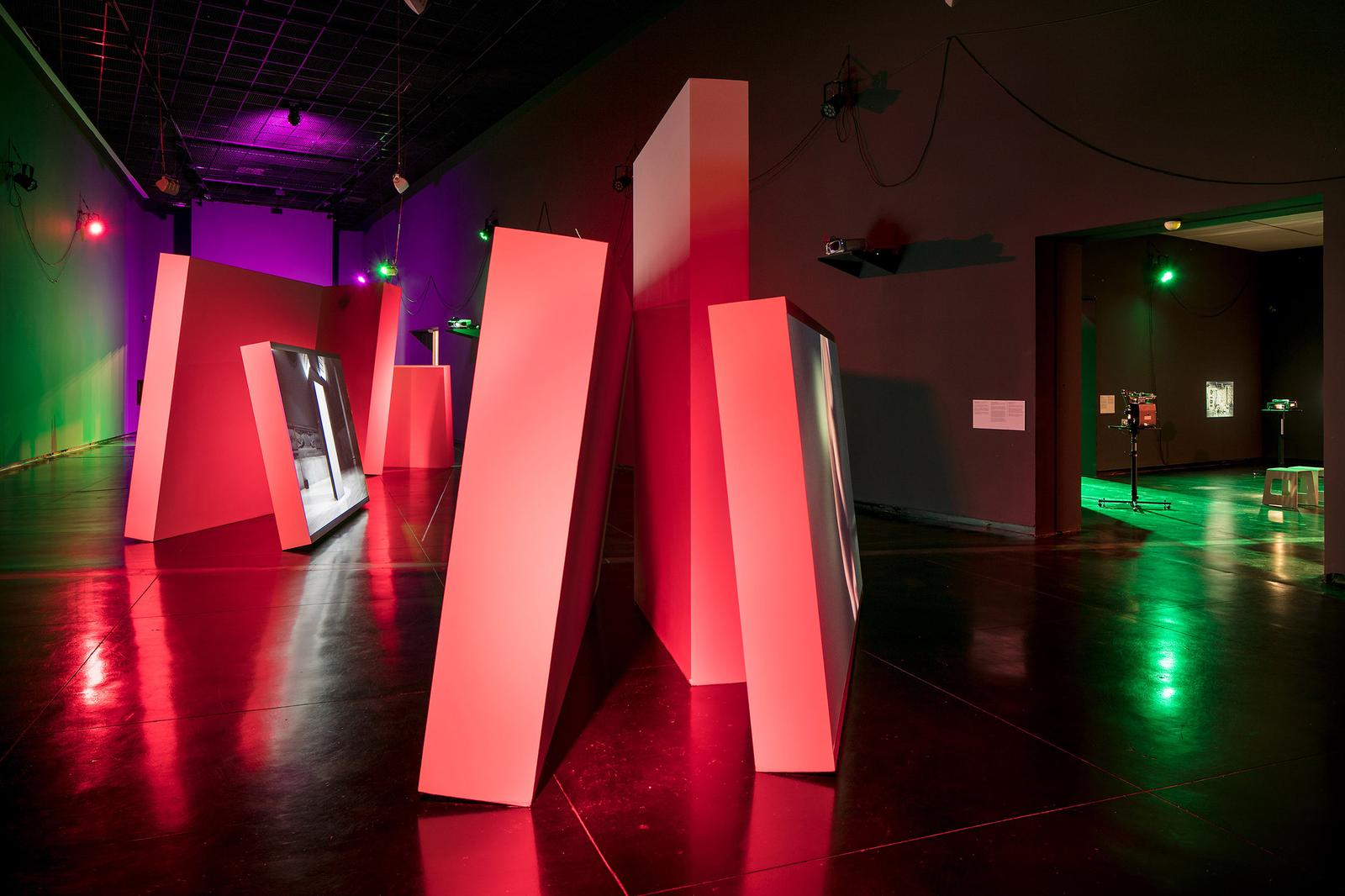 Gerard Byrne: A late evening in the future 2016, installation view at the  Australian Centre for Contemporary Art, Melbourne 8 Oct–27 Nov 2016 ...