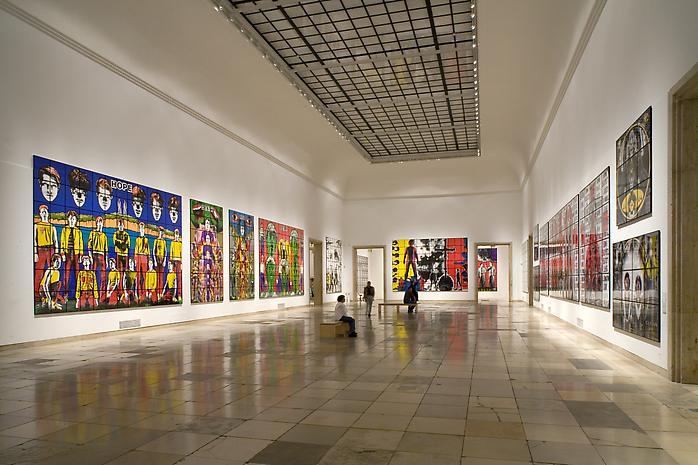haus der kunst exhibitions lehmann maupin