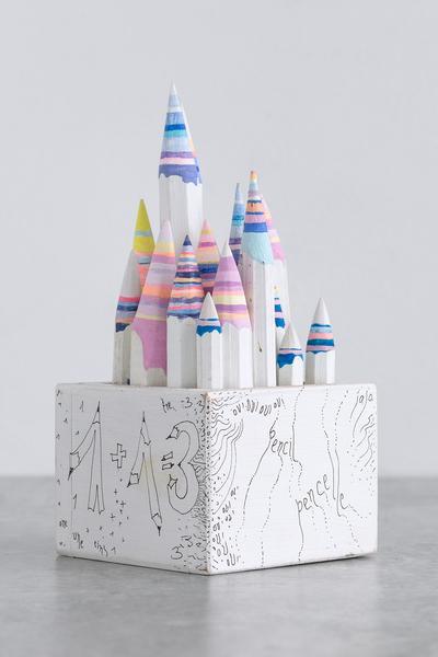 Pencil Pencelle (18/2015), 2015 ink, graphite, 20...