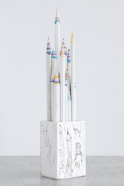 Pencil Pencelle (20/2015), 2015 ink, graphite, 15...