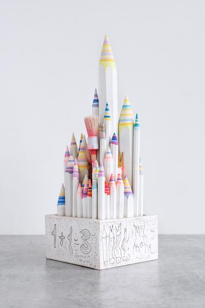 Pencil Pencelle (48/2015), 2015 ink, graphite, pai...