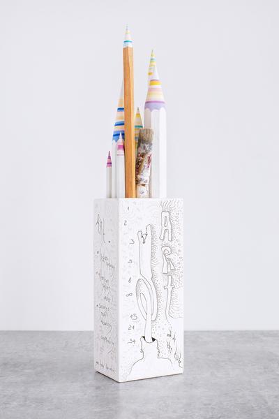 Pencil Pencelle (50/2015), 2015 ink, graphite, pai...