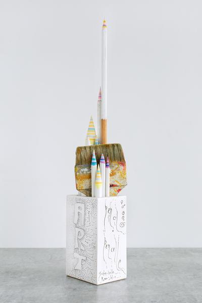 Pencil Pencelle (51/2015), 2015 ink, graphite, pai...