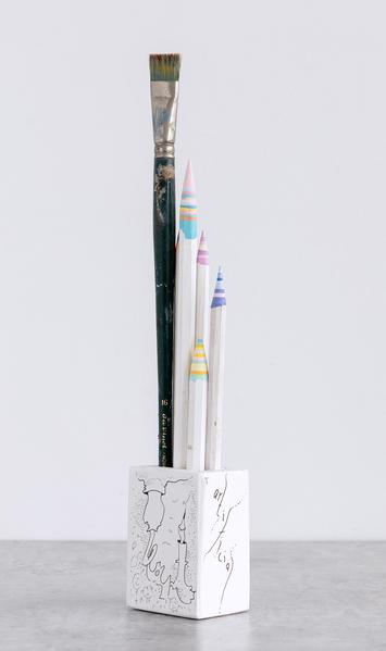 Pencil Pencelle (56/2015), 2015 ink, graphite, pai...