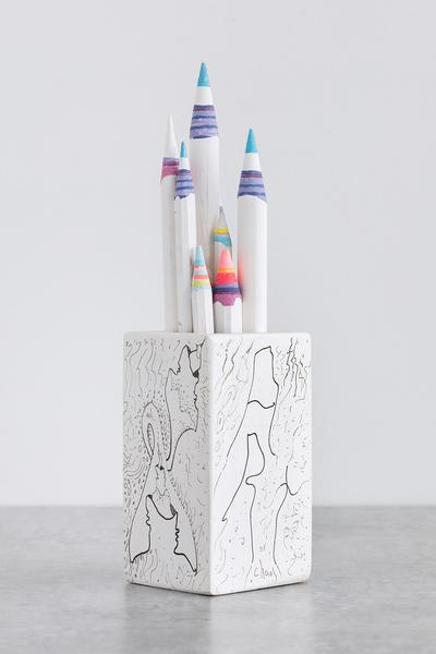Pencil Pencelle (136/2015), 2015 ink, graphite, 10...