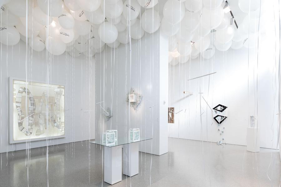 Installation Views - Mary Bauermeister: Live in Peace or Leave the Galaxy - April 5 – June 8, 2019 - Exhibitions