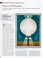 American Fine Art Magazine, Jan/Feb 2014