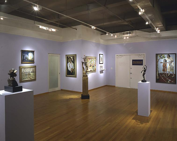 Installation Views - African-American Art: 20th Century Masterworks, IV - January 23 – March 26, 1997 - Exhibitions