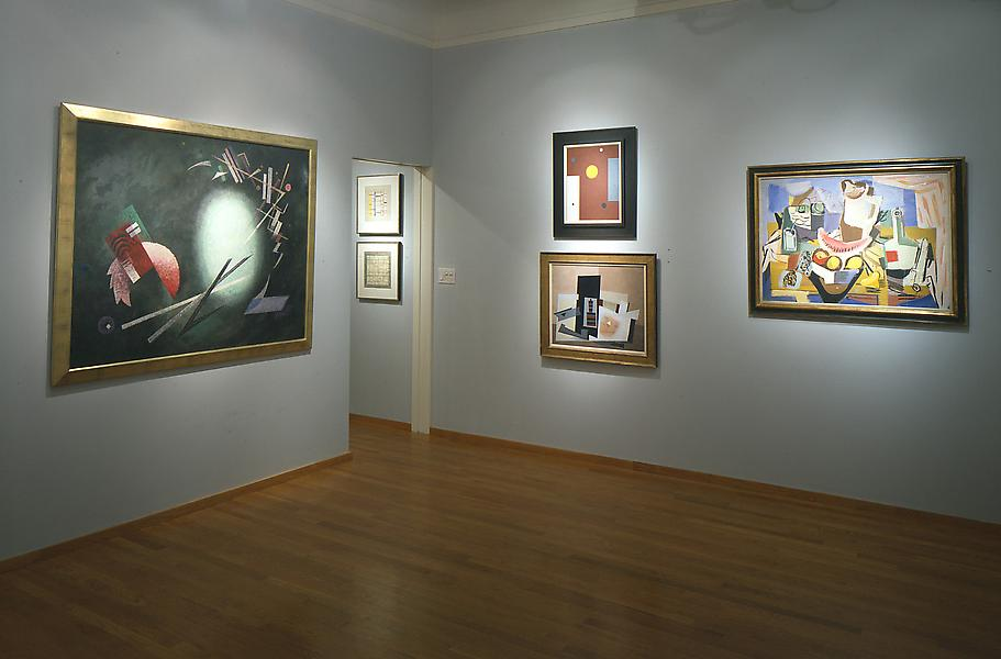Installation Views - Abstraction Across America, 1934 – 1946 - September 11 – November 9, 1996 - Exhibitions