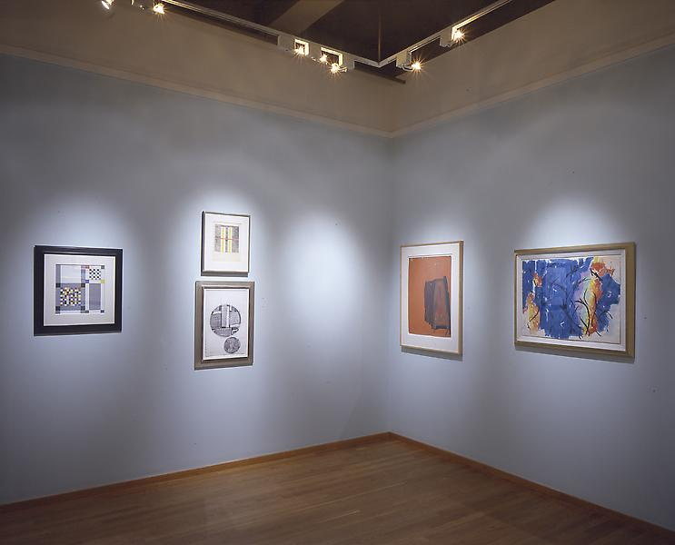 1950 - 1965: Abstraction on Paper - Exhibitions