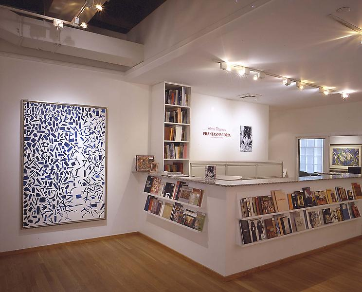 Installation Views - Alma Thomas: Phantasmagoria, Major Paintings from the 1970s - September 13 – November 3, 2001 - Exhibitions