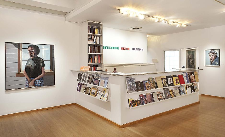 Installation Views - Benny Andrews, Alice Neel, Bob Thompson - January 28 – April 7, 2012 - Exhibitions