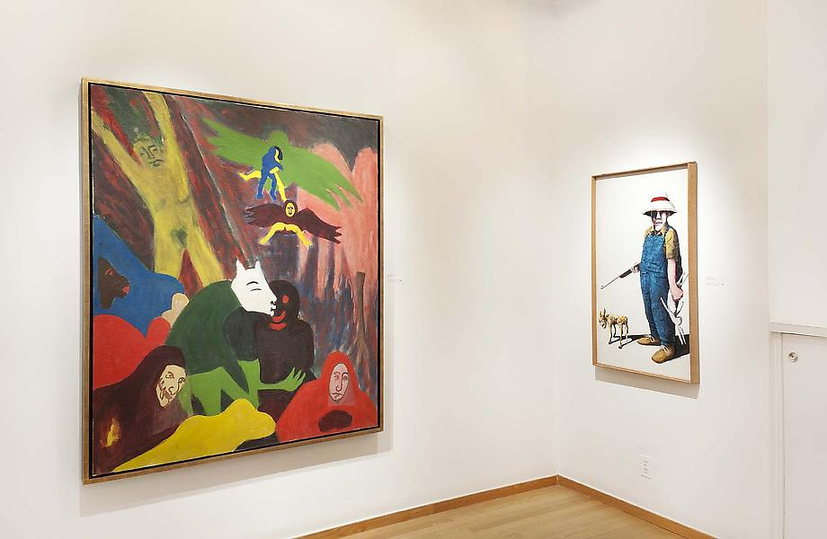 Benny Andrews, Alice Neel, Bob Thompson - Exhibitions