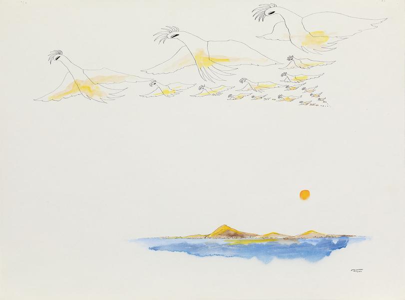 Benny Andrews (1930-2006) Utopias Study #16, 1975...
