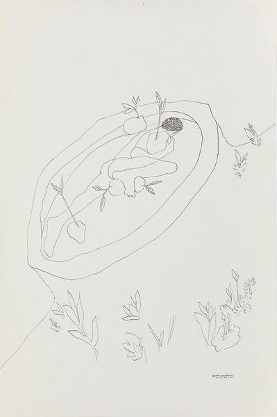 Benny Andrews (1930-2006) Utopias Study #17, 1975...