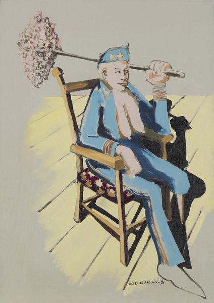 Benny Andrews (1930-2006) War Bitch (Study #2 for...