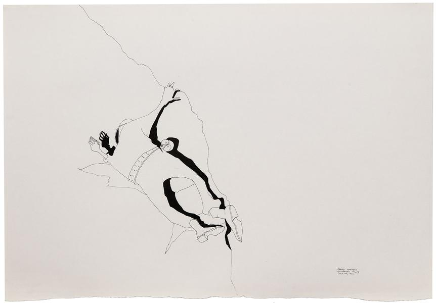 Benny Andrews (1930-2006) War Study #18, 1974 indi...