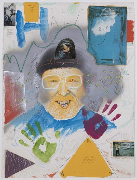 Robert Arneson (1930-1992) Hello Halibut, 1974 wat...