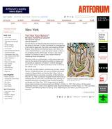 ArtForum Critic's Pick, July 15, 2016