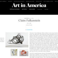 Art in America, October 1, 2018