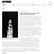 Artforum, February 8, 2019