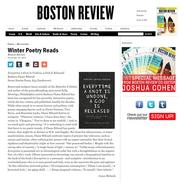 Boston Review, November 24, 2015