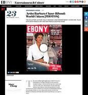 Ebony Magazine Interview
