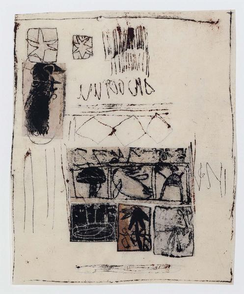 Hannelore Baron (1926-1987) Untitled, 1982 mixed m...