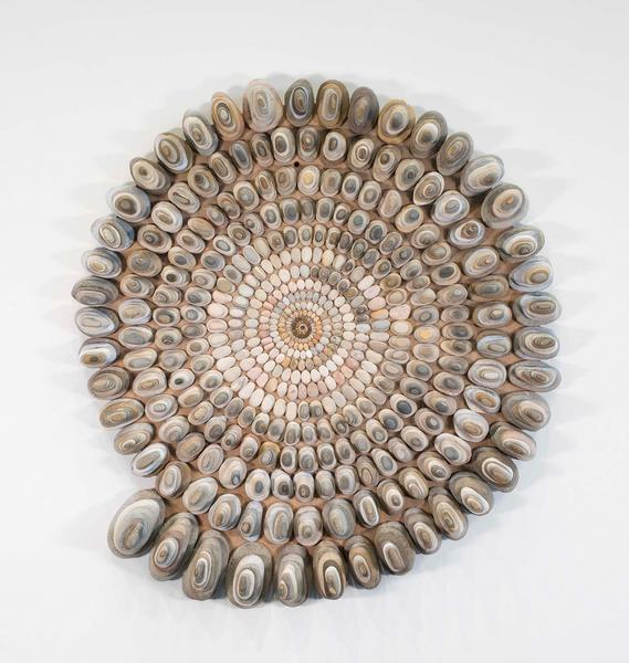 Mary Bauermeister (b.1934) Stone-Mandala for Medit...
