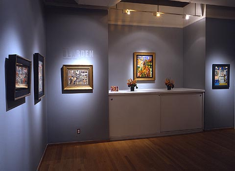 Installation Views - Romare Bearden: Fractured Tales: Intimate Collages - September 8 – October 28, 2006 - Exhibitions
