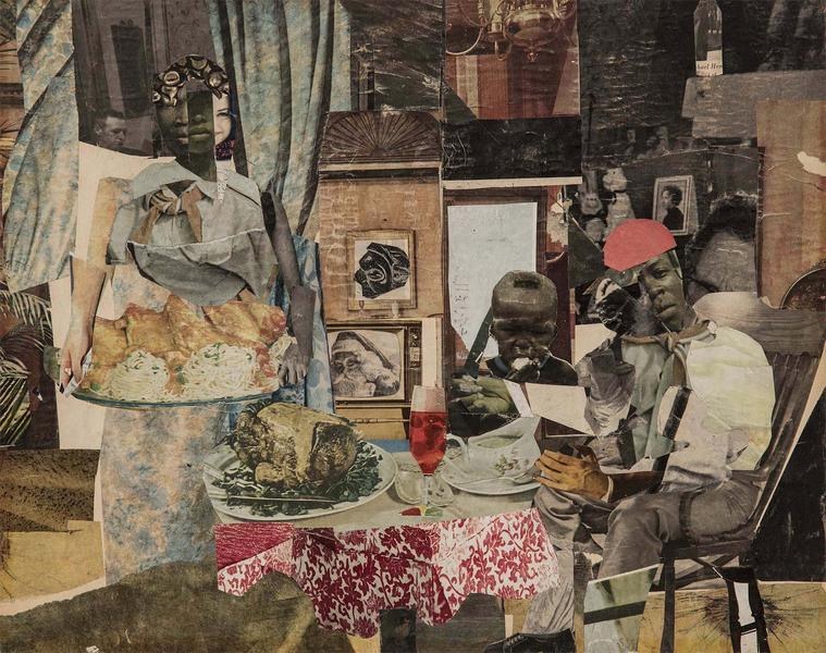 Romare Bearden (1911-1988) The Evening Meal of Pro...