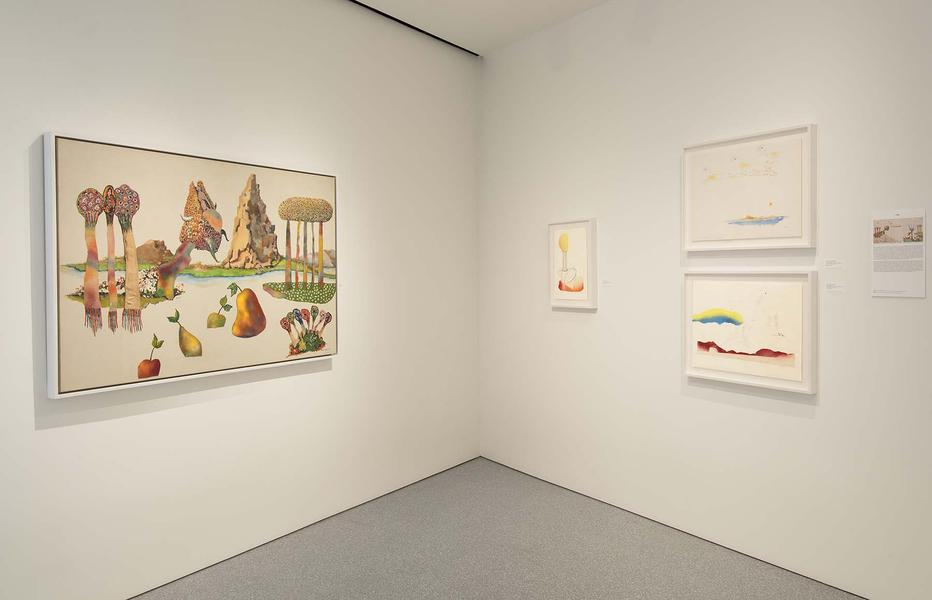 Installation Views - Benny Andrews: The Bicentennial Series - November 8, 2016 – January 21, 2017 - Exhibitions