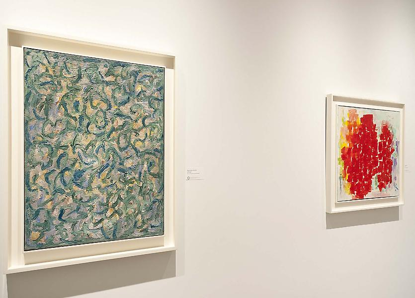 Installation Views - Beyond the Spectrum: Abstraction in African American Art, 1950-1975 - January 11 – March 8, 2014 - Exhibitions