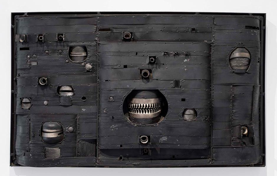 Lee Bontecou (b.1931) Untitled, 1963 welded steel...