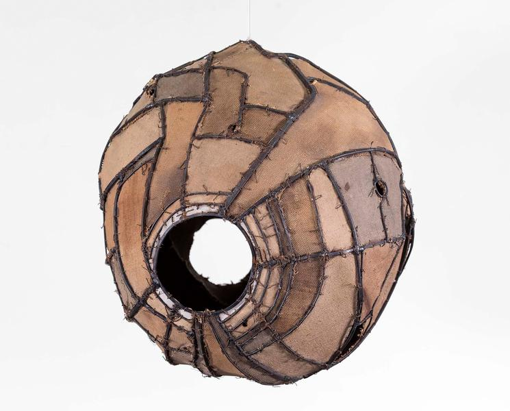 Lee Bontecou (b.1931) Untitled, 1963 welded metal,...