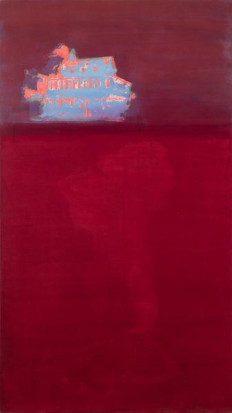 Frank Bowling (b.1936) Untitled, 1968 acrylic, sil...