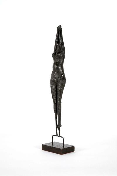 Fetish (Study for a Girl), 1954 bronze with wood b...