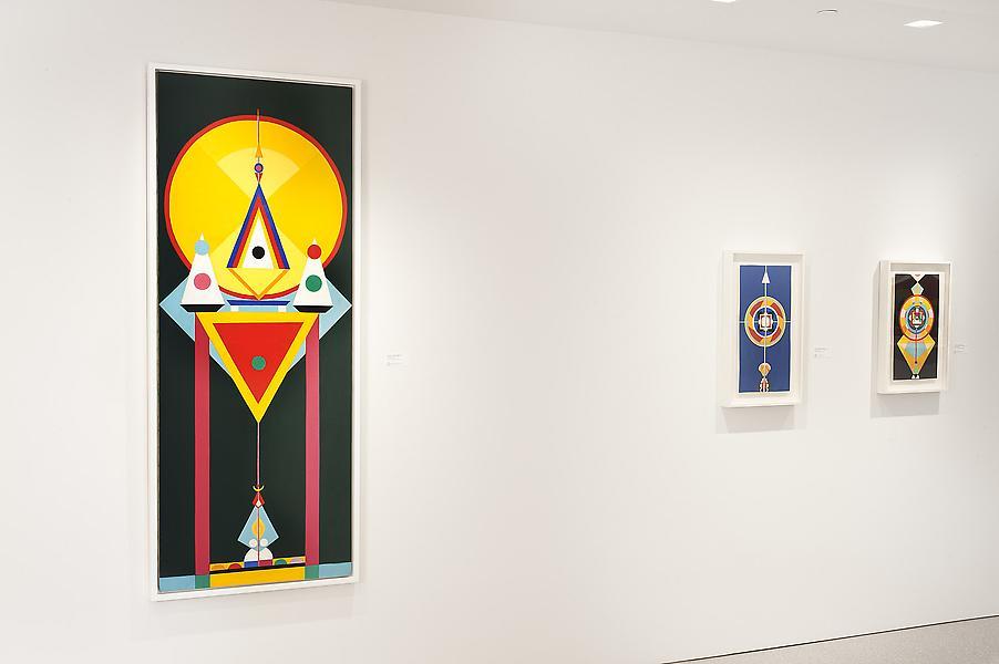 Installation Views - Charmion von Wiegand: Secret Doors, 1945-69 - November 2, 2013 – January 4, 2014 - Exhibitions