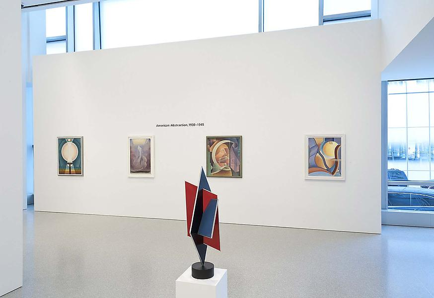 Installation Views - American Abstraction, 1930-1945 - November 2, 2013 – January 4, 2014 - Exhibitions