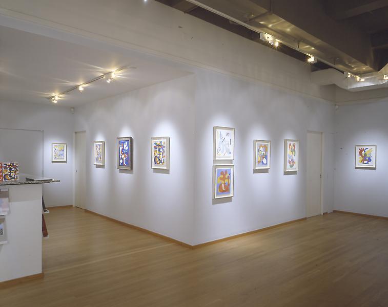 Installation Views - Charmion von Wiegand: Improvisations - 1945 - September 9 – November 1, 2003 - Exhibitions