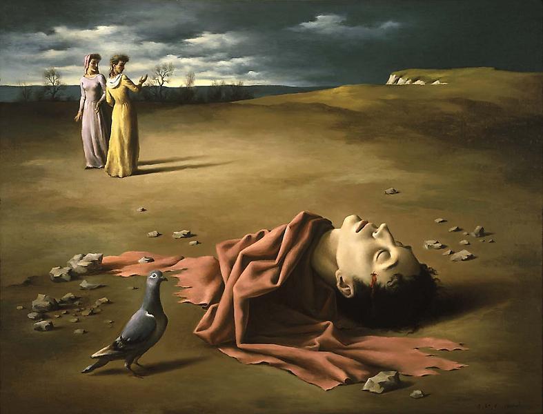 Composition surréaliste – Jean Coctea...