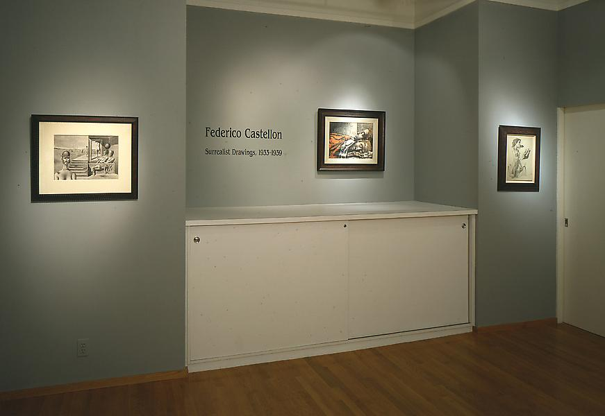 Federico Castellon: Surrealist Drawings of the 1930s - Exhibitions