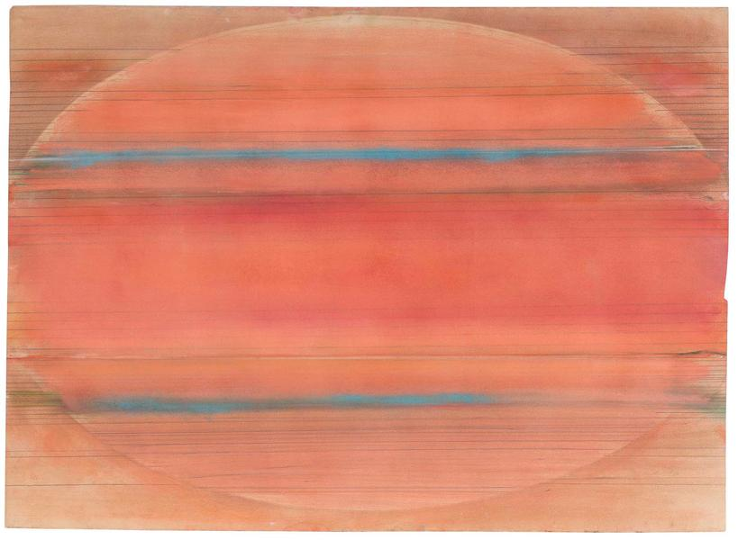 Ed Clark (b.1926) Untitled, 1973 pastel and graphi...